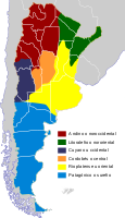 Dialectal variants of the Spanish language in Argentina