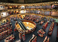 El Ateneo Grand Splendid was named the second most beautiful bookshop in the world by The Guardian.
