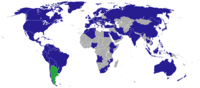 Diplomatic missions of Argentina.
