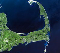 Cape Cod was formed by retreating glaciers