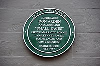 Small Faces Plaque