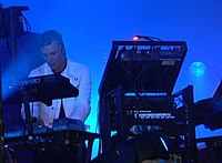 Liam Howlett live in August 2005.