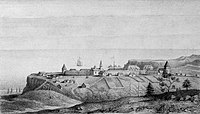 The Russians from Alaska established their largest settlement in California, Fort Ross, in 1812.