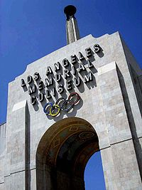Los Angeles Memorial Coliseum hosted the Summer Olympics in 1932 and 1984.