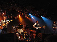 The Killers performing in October 2006