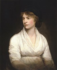 Mary Wollstonecraft (1759-1797) was an English writer and philosopher.
