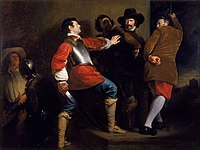 The Discovery of the Gunpowder Plot and the Taking of Guy Fawkes (c. 1823) by Henry Perronet Briggs.