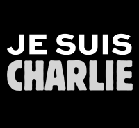 """The Je suis Charlie (""""I am Charlie"""") slogan became an endorsement of freedom of speech and press"""