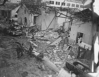 Aftermath of the 1964 Brinks Hotel bombing in Vietnam.