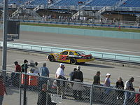 Blaney practicing for the 2007 Ford 400 at the Homestead-Miami Speedway.