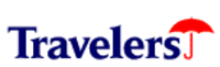 The corporate logo of Travelers Inc. (1993–1998) prior to the merger with Citicorp.