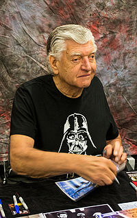 David Prowse physically portrayed Vader in the original film trilogy.