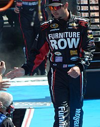 Martin Truex Jr., seen here at the 2015 Daytona 500, snapped a 69 race winless drought and scored the third victory of his career at Pocono.