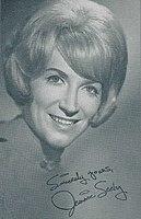 An early publicity photo of Seely while signed to Monument Records, 1960s