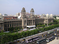 Southern Railway Headquarters, one of the fine examples of Indo-Saracenic architecture in the city