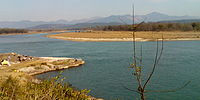 Neeldhara Bird Sanctuary at the main Ganges Canal, before Bhimgoda Barrage, also showing signs of an ancient port.