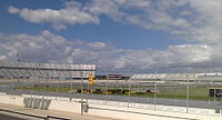 Dover International Speedway, the track where the race was held.