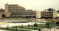 The faculty of Arts and Humanities at the University of Aleppo