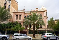 Villa Rose, built in 1928 during the period of the French mandate