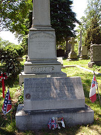 Gravesite of Jeb and Flora Stuart, Hollywood Cemetery
