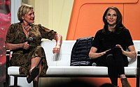 Denise Crosby and Gates McFadden were in Season 1 as Tasha Yar and Doctor Crusher, respectively, but were removed for Season 2.