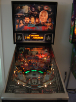 Star Trek TNG pinball featured the voices of actors from the show
