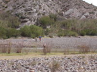 Mexicans crossing the Río Grande face the Big Bend National Park.
