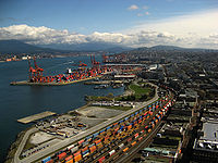 The Port of Vancouver is the largest port in Canada, and the third-largest port in the Americas (by tonnage).