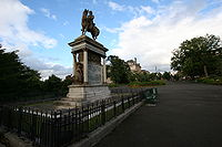 Monument of Frederick Roberts, 1st Earl Roberts, in Glasgow.