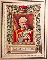 Lord Roberts' stamp in the 1917 Lord Roberts Memorial Stamp Album
