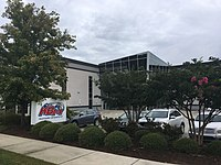 The Kyle Busch Motorsports race shop in Mooresville, North Carolina