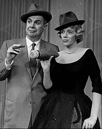 With Ken Murray on The Lux Show Starring Rosemary Clooney (1957)