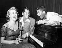 Rosemary Clooney, Dean Martin, and Jerry Lewis on TV's The Colgate Comedy Hour, 1952