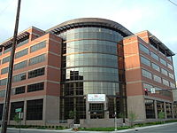Medical Office Plaza on the University of Louisville's downtown Health Sciences Campus