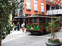 Toonerville II Trolleys provided transportation in downtown Louisville until late 2014, before being replaced by LouLift.