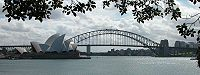 The Sydney Harbour Bridge and the Sydney Opera House are an iconic image of Sydney, and the continent itself. Ranking highly in quality of life measurements, Sydney is consistently selected as one of the world's most liveable cities.