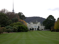 Government House, Canberra is the official residence of the Governor-General.