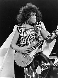 Marc Bolan of T. Rex performing on ABC's In Concert, 1973