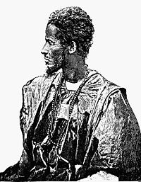Moorish marabout of the Kuntua tribe, an ethnic Kounta clan, from which the Al Kounti manuscript collection derives its name. Dated 1898.