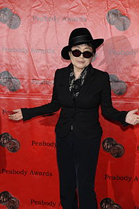 Ono appears at the 70th Annual Peabody Awards, spring of 2011