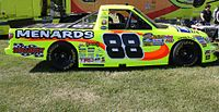 The Camping World Truck Series vehicle of two-time series champion Matt Crafton