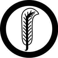 Derivative of Plant's feather sigil used in the Led Zeppelin IV album