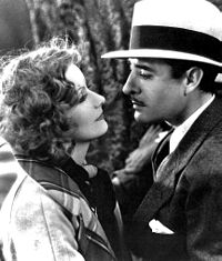 Garbo with John Gilbert in A Woman of Affairs (1928)