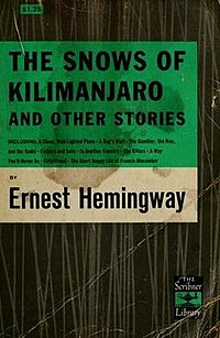 The Snows of Kilimanjaro (short story collection)