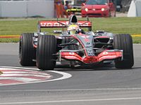 Hamilton took his first Formula One win at the 2007 Canadian Grand Prix in only his sixth Grand Prix.