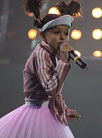 Ksenia Sitnik won the 3rd edition of the junior contest in 2005 for Belarus, giving the country their first win in a Eurovision event.