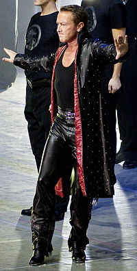 Irish-American dancer Michael Flatley (pictured in 2010) featured in Riverdance, the interval act at the 1994 contest