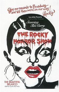 Original Broadway poster for The Rocky Horror Show