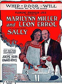 Sheet music from Sally, 1920