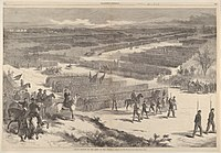 Grand Review of the Army of the Potomac, drawn by Thomas Nast, Harper's Weekly, October 10, 1863